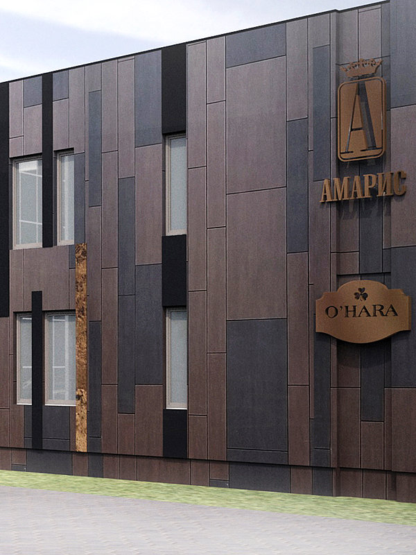 Reconstruction of hotel Amaris
